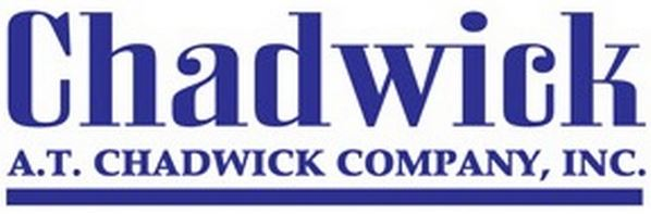AT Chadwick logo in blue