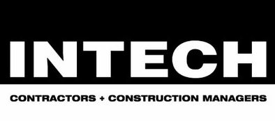Intech logo in black and white